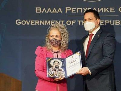 Dodeljene Svetosavske nagrade