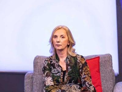 Predsednica Unije sindikata prosvetnih radnika Srbije Jasna Janković